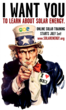 Uncle Sam Loves Solar Energy - Starting July 1st: Solar Energy...
