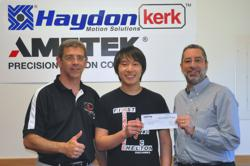 Haydon Kerk Motion Solutions & Shelton HS First Robotics