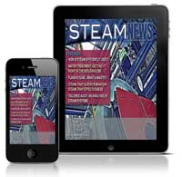 Download Steam News Magazine via the App Store today!
