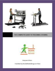 The Complete Guide to Treadmill Desking includes detailed advice for treadmill desk and standing desk users, unbiased professional product reviews, best of the blog, and instructions on building a treadmill desk