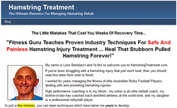 hamstring injury treatment review