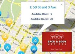 NYC Chiropractor Back and Body Medical Welcomes Citi Bike