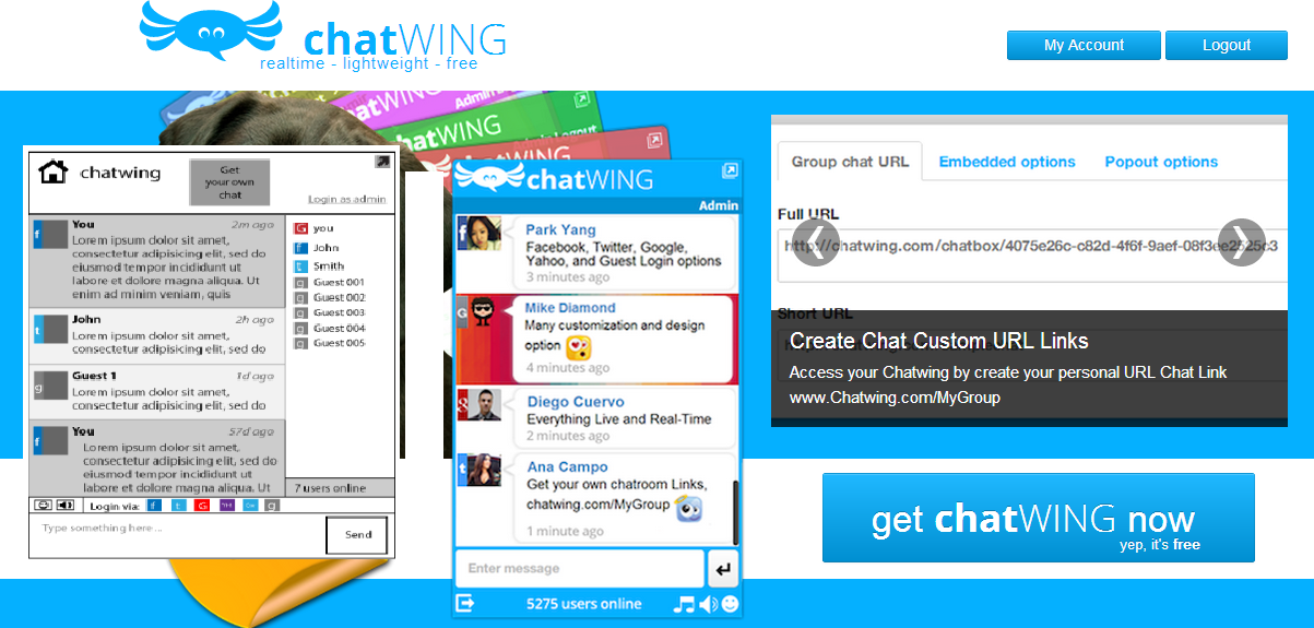 Holiday Chat Room Themes Now Being Requested By Chatwing Android
