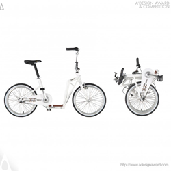 Slider Folding Bike by Paul Hsu Design