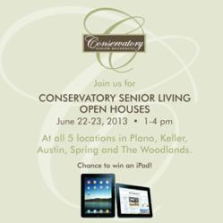 Conservatory Senior Living Open House