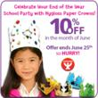 Save 10% off Hygloss Products Paper Crowns