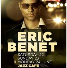 Eric Benet at The Jazz Cafe
