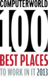 IDG's Computerworld Names Secure-24 to 2013 List of 100 Best Places to Work in Information Technology