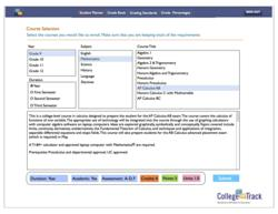 CollegeOnTrack Course Catalog