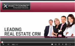 IXACT Contact CRM for Realtors Overview Video