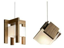 New Cerno LED Pendants: The Laurus and Mica (left to right)