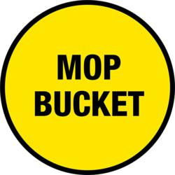Mop Bucket Sign
