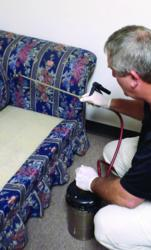 Cimi-Shield treating upholstery