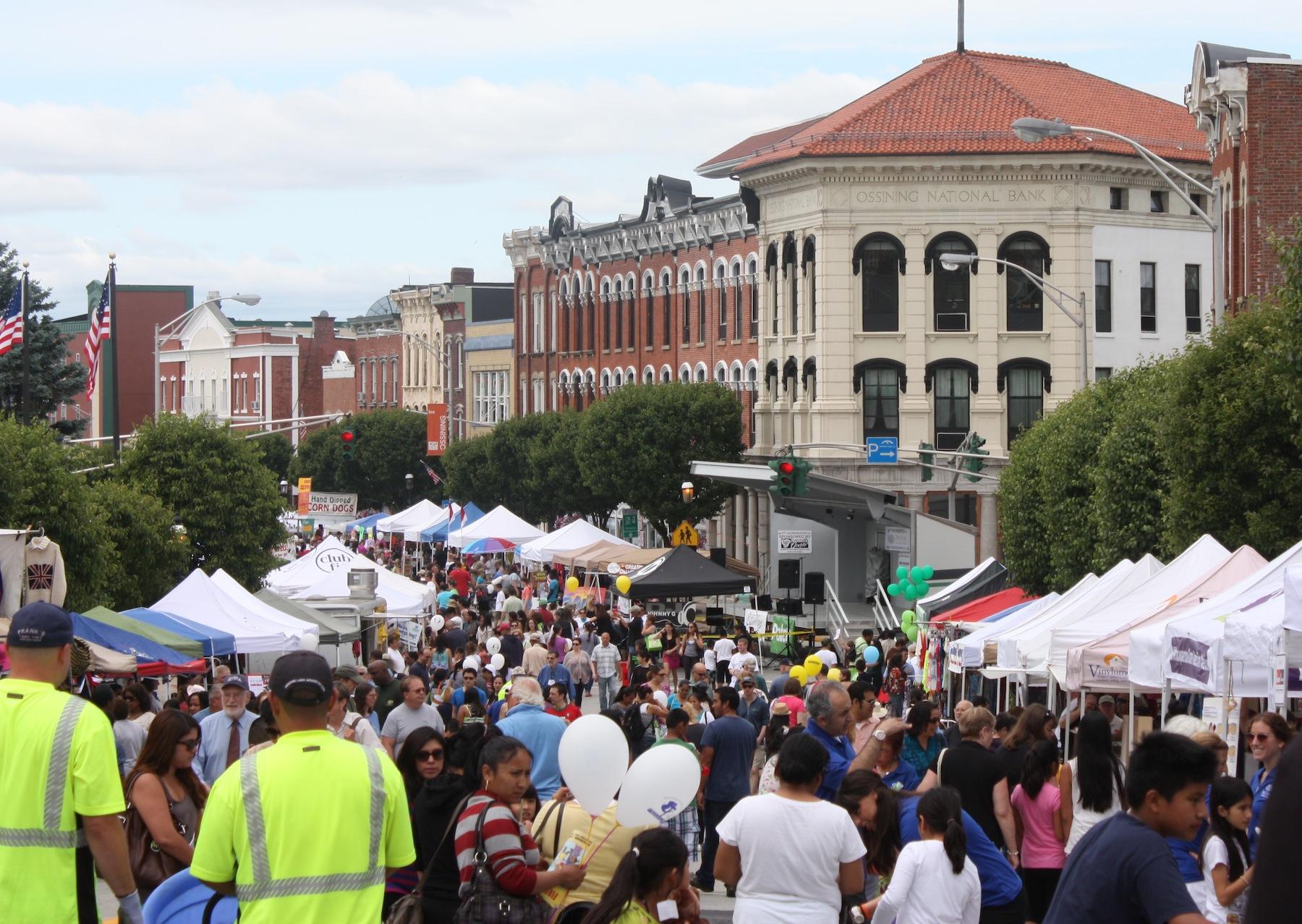 33rd Annual Ossining Village Fair Draws a Crowd of 15,000ossining village