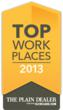 Explorys Selected as Top Workplace by The Plain Dealer