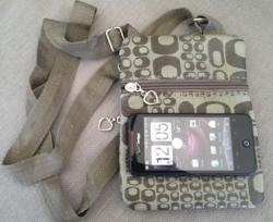 On-The-Go Multi Function Cross Body Cell Phone Purse