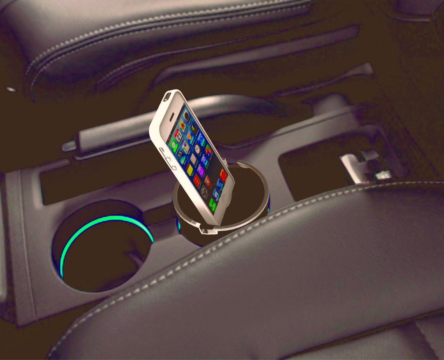 Custom Car Docks Potentially Eliminates Hand Held Cell