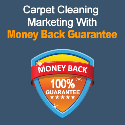 Carpet Cleaning Marketing With Money Back Guarantee