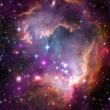 Taken Under the 'Wing' of the Small Magellanic Cloud, courtesy NASA/CXC/JPL-Caltech/STScI