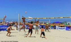 World Series of Beach Volleyball 4-person compettion