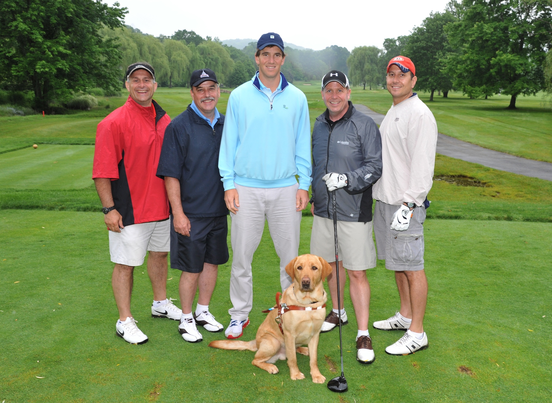 Guiding Eyes For The Blind S Golf Classic With Ny Giants