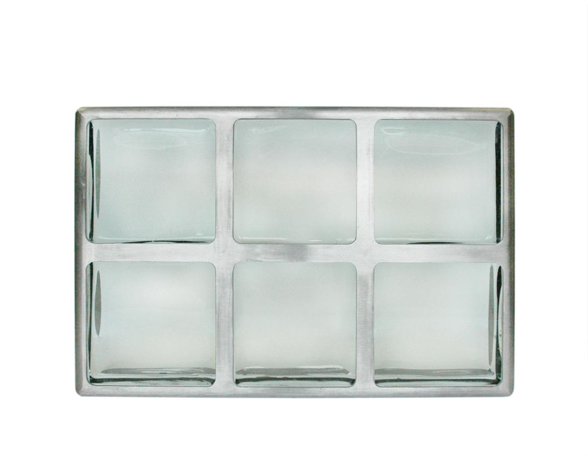 tornado resistant glass block window