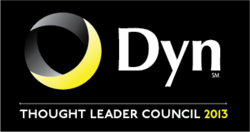 Logo for Dyn, Infrastructure as a Service (IaaS) experts