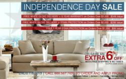 Charming SofasAndSectionals.com Celebrates Independence Day With Added Upgrades On  Many Furniture Purchases
