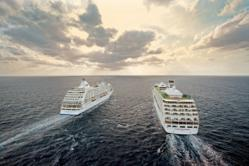 Regent Seven Seas Navigator and Voyager at Sea