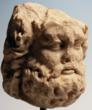 Roman Marble Head of Jupiter