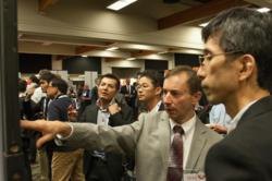 Poster receptions at SPIE Photomask Technology provide an opportunity to network as well as to find ideas for new solutions to challenges in emerging photomask technology.