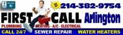 Call First Call Plumbers Day or Night for Fast Plumbing Repair in Arlington, TX. Water Heater, Sewer Repair and More.