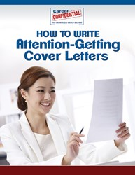 Attention Getter Cover Letters From Career Confidential