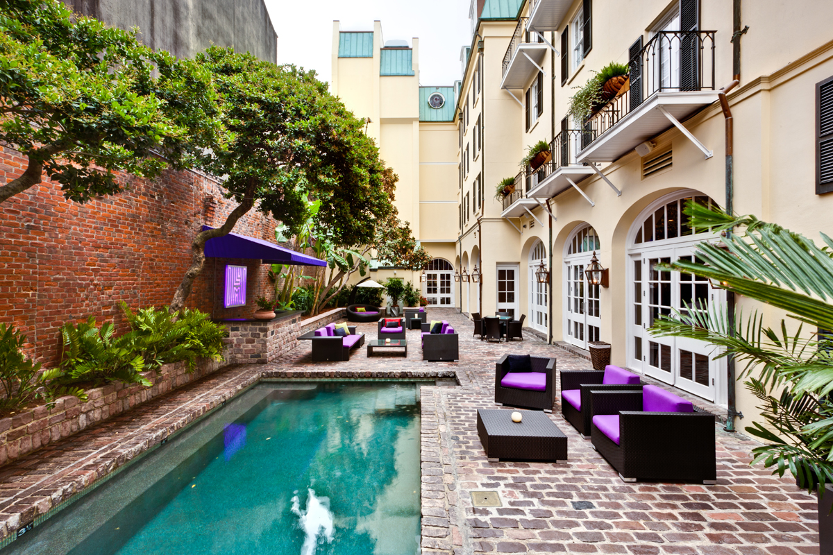 New orleans hotel collection announces new partnership for Pool design new orleans