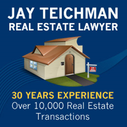 Toronto Real Estate Lawyer, Jay Teichman, announces booming business despite current condo real estate market