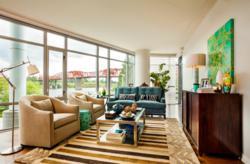 Portland interior design of condo development, Waterfront Pearl.