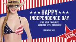 Independence Day, American Style Dresses