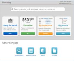 SMARTGov Public Portal home