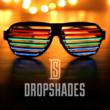 edc, dropshades kickstarter, drop shades, dropshades, edm accessories, rave accessories, light up glasses