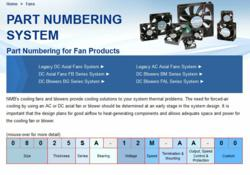 AC cooling fans, DC cooling fans, axial fans, blowers, fan motors