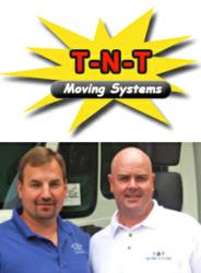 Tom Tulowiecki and Todd Koepke of T-N-T Moving Systems