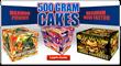 500 gram cakes