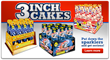 3 Inch cakes