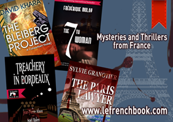 Mysteries and thrillers from France