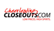 Cheerleading Closeouts, Powered by Campus Teamwear, Offering Labor Day...