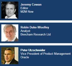M2M Now and Oracle webinar speakers