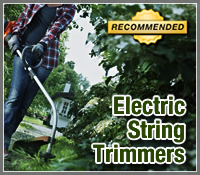 2013 Best Electric String Trimmers