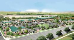 Olivewood Retail Plaza rendering