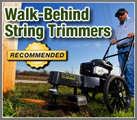 2013 Best Walk-Behind String Trimmers