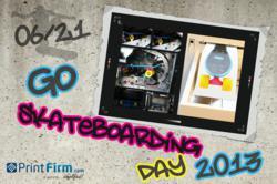 Go Skateboarding Day 2013 in CMYK